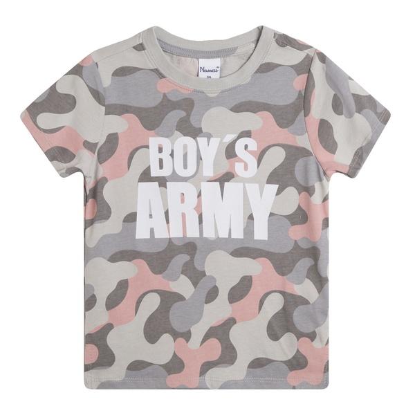 comprar camiseta de camuflaje para niño de newness