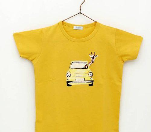 Comprar Camiseta Estampada Jirafa Foque