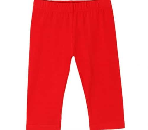 comprar leggins en color rojo para niña de newness