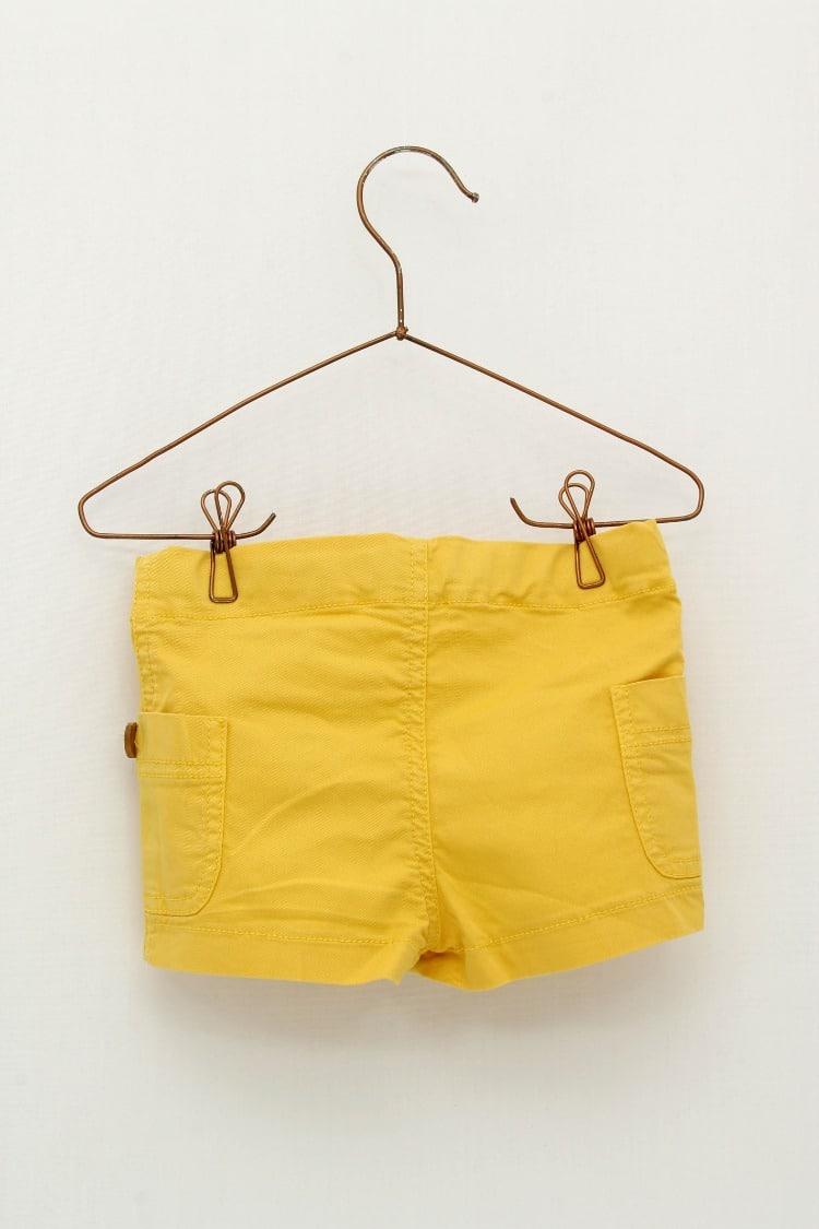 Comprar Pantalón Corto Mostaza Foque