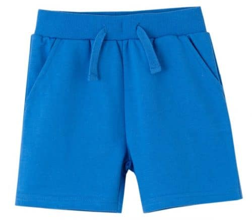 comprar short basico color azulon de newness