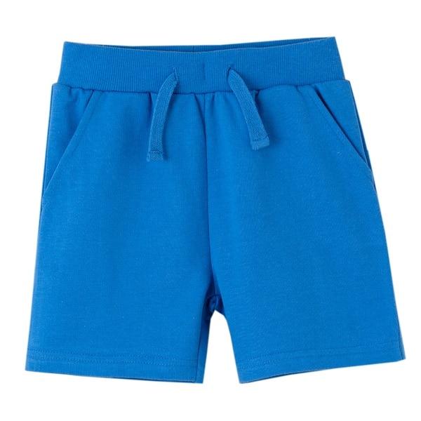 comprar short basico color azulon de newness