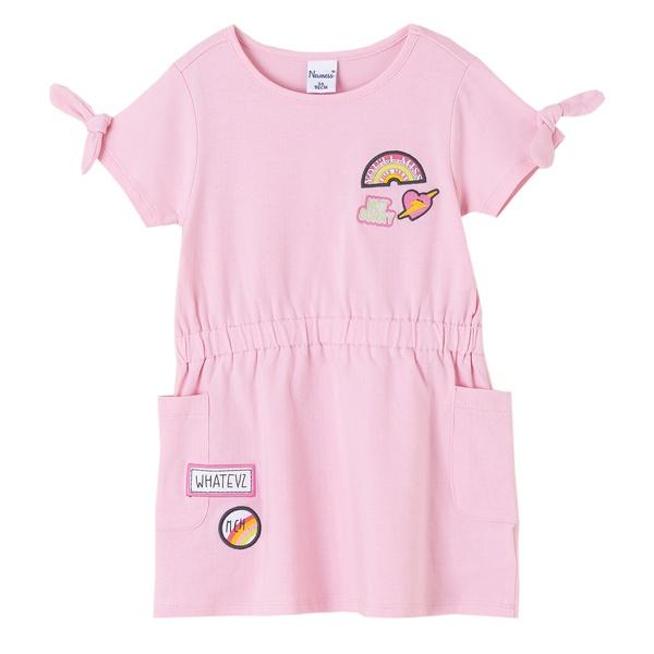 comprar vestido rosa para niña de newness